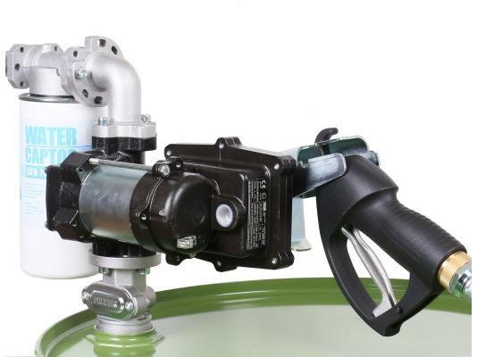 Заправочная колонка для бензина PIUSI DRUM EX50 230V ATEX + ручной пистолет арт. F00374000