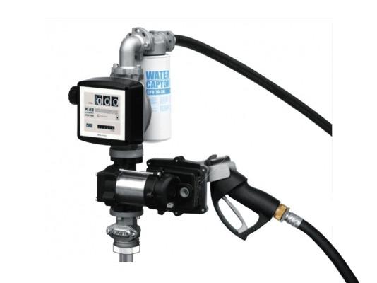 Заправочная колонка для бензина PIUSI DRUM EX50 12V DC K33 ATEX + ручной пистолет арт. F00375000