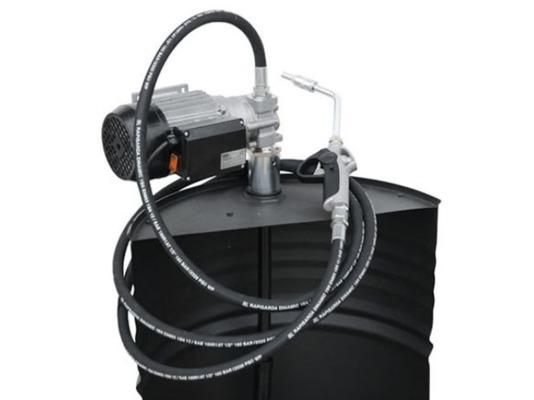 Piusi Drum Viscomat 60/1 12V комплект для перекачки масла с насосом