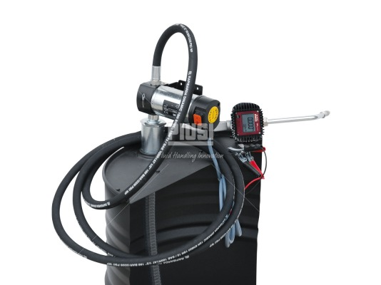 Piusi Drum Viscomat 60/1 24V K400 комплект для перекачки масла с насосом
