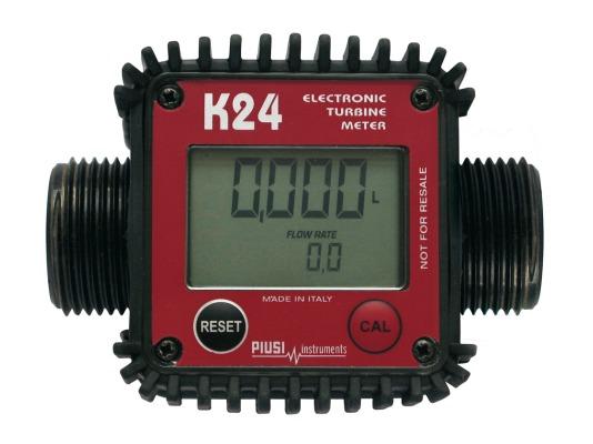 Электронный счётчик PIUSI K24 F0040700A для дизельного топлива