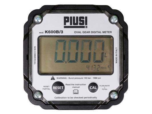 Электронный счетчик масла PIUSI K600 B/3 oil F00491010