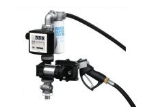 Заправочная колонка для бензина PIUSI DRUM EX50 12V DC K33 ATEX с кабелем питания + ручной пистолет