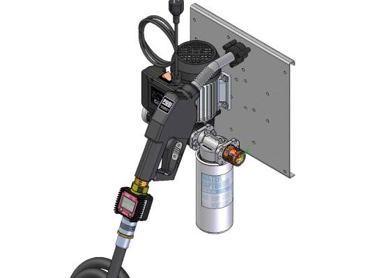 Минизаправка PIUSI ST Panther 72 Filter + K24 meter арт. F00265S20