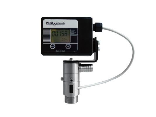 Расходомер импульсный PIUSI TURBINOX 90° с дисплеем