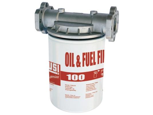 Фильтр для дизельного топлива, бензина и масла Piusi filter for fuel and oil 100 l/min 5 микрон, арт. F09149020