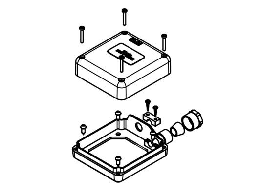 Распаянная коробка для насоса PIUSI арт. R13288000
