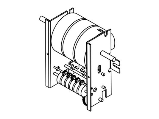 Счетное устройство счетчика PIUSI К33 арт. R08761000