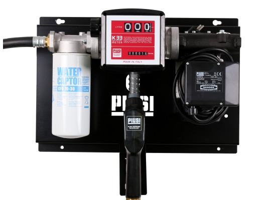 PIUSI ST с фильтром, для перекачки и учёта дизельного топлива
